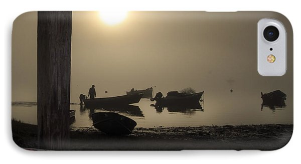 Cove Fog - Orleans Cape Cod Phone Case by Dapixara Art