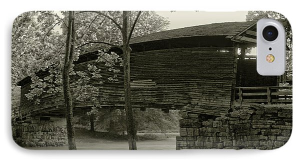 IPhone Case featuring the photograph Covered Bridge by Mary Almond