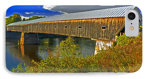 IPhone Case featuring the photograph Covered Bridge by William Fields