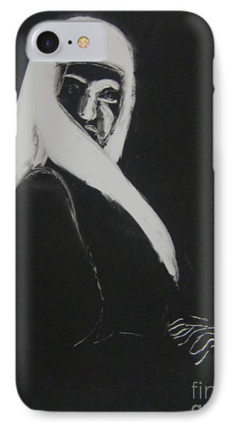 IPhone Case featuring the drawing Covered by Gabrielle Wilson-Sealy