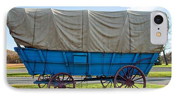 Covered Wagon Phone Case by Steve Harrington