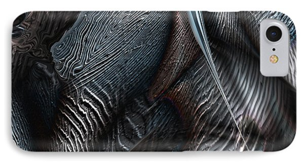 Covering Coals IPhone Case by Steve Sperry