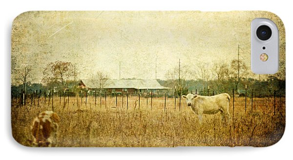 Cow Pasture Phone Case by Joan McCool