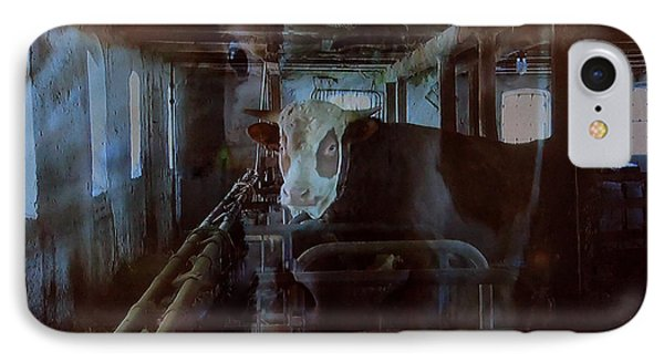 Cow Shelter Indoor Phone Case by Colette V Hera  Guggenheim