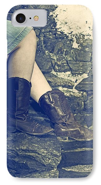 Cowboy Boots Phone Case by Joana Kruse