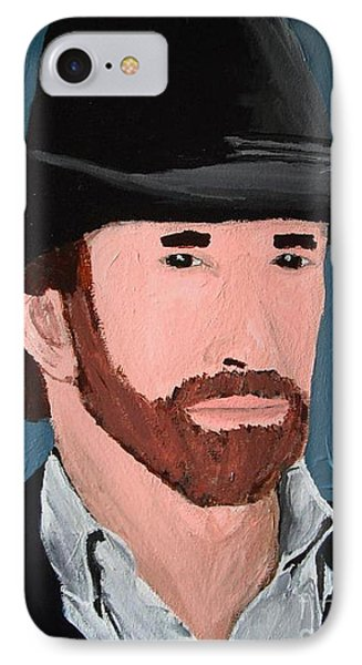 Cowboy Phone Case by Jeannie Atwater Jordan Allen