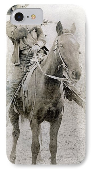 Cowboy Robber C1900 Photograph By Granger