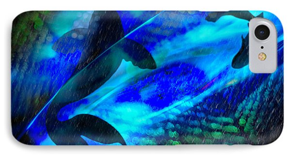 IPhone Case featuring the photograph Coy Koi by Richard Piper