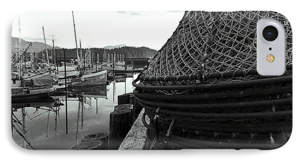 Crab Traps IPhone Case by Darcy Michaelchuk