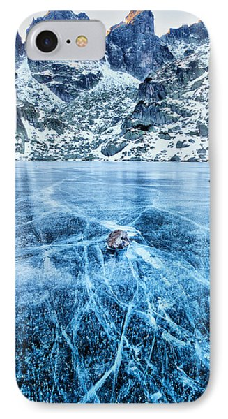 Cracks In The Ice Phone Case by Evgeni Dinev