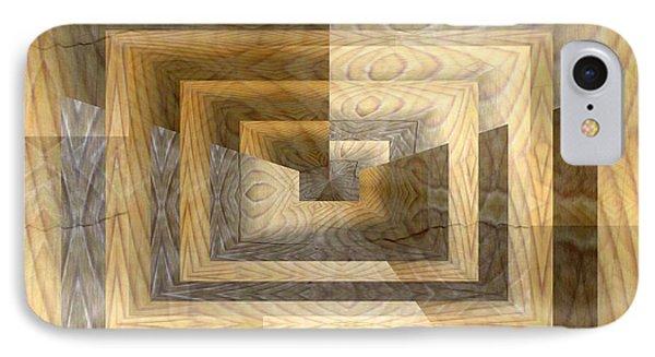 Cracks In The Veneer Phone Case by Tim Allen