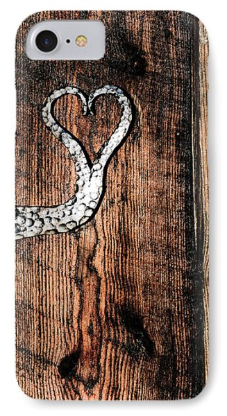 Crafted Heart IPhone Case by Michelle Joseph-Long
