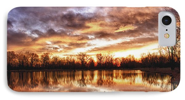 Crane Hollow Sunrise Boulder County Colorado Hdr Phone Case by James BO  Insogna