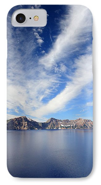 Crater Lake Sky Phone Case by Pierre Leclerc Photography