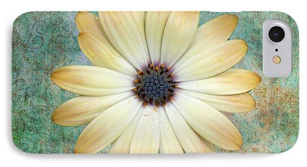 Cream Coloured Daisy Phone Case by Chris Thaxter