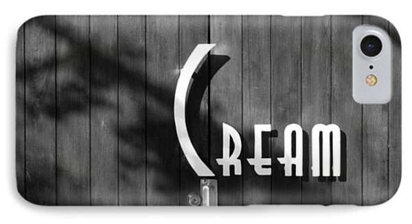 Cream IPhone Case by Jeannette Hunt