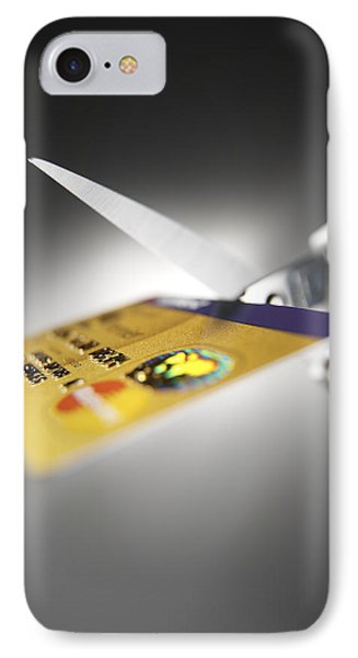 Credit Card Debt Phone Case by Tek Image
