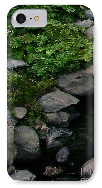Creek Flow Panel 2 Phone Case by Peter Piatt
