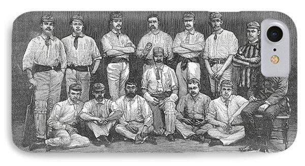 Cricket Team, 1884 IPhone Case by Granger