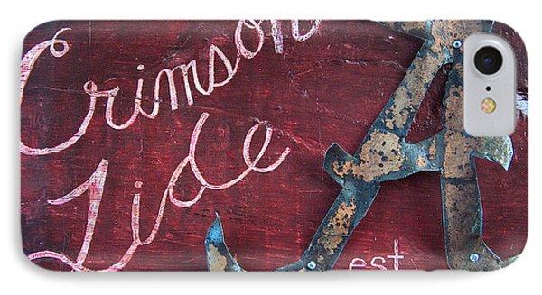 Crimson Tide Phone Case by Racquel Morgan