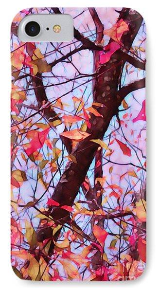 Crisp Autumn Day Phone Case by Judi Bagwell