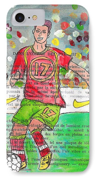 Cristiano Ronaldo IPhone Case by Jera Sky