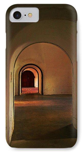 IPhone Case featuring the photograph Cristobal Corridor by Deborah Smith