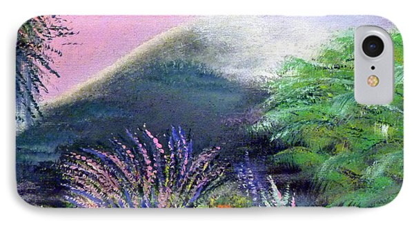 IPhone Case featuring the painting Croagh Patrick by Alys Caviness-Gober