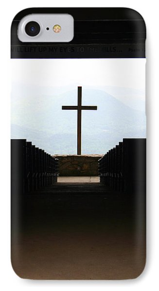 IPhone Case featuring the photograph Cross 1 by Kelly Hazel
