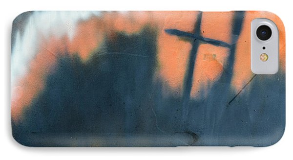 IPhone Case featuring the painting Cross by Chriss Pagani