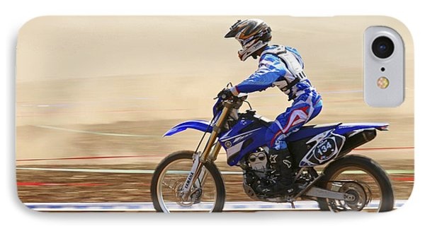 Cross Country Motorbike Racing Phone Case by Photostock-israel