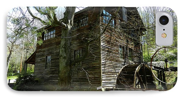 IPhone Case featuring the photograph Cross Eyed Cricket Grist Mill by Paul Mashburn