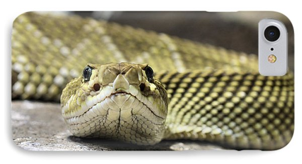Crotalus Basiliscus IPhone 7 Case by JC Findley