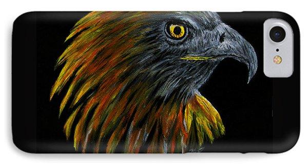 Crowhawk Phone Case by Peter Piatt