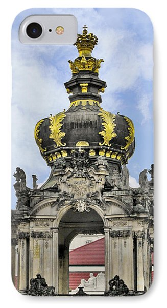 Crown Gate - Kronentor Zwinger Palace Dresden Phone Case by Christine Till