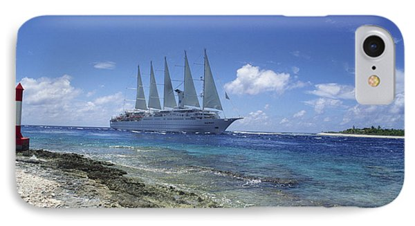 Cruise Ship Phone Case by Alexis Rosenfeld