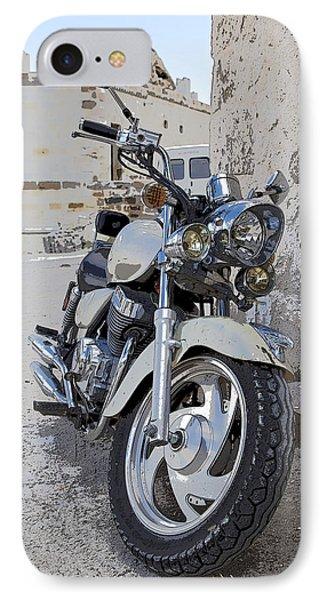 Cruiser Motor Bike Turkey Phone Case by Kantilal Patel