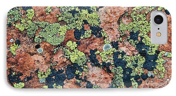 Crustose Lichens On Granite, Killarney IPhone Case