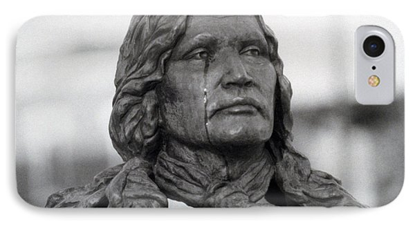 Crying Chief Niwot  Phone Case by James BO  Insogna