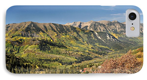 Crystal Valley Phone Case by Marty Koch