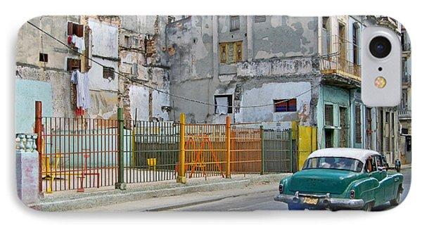 IPhone Case featuring the photograph Cuba Vintage American Car  by Lynn Bolt