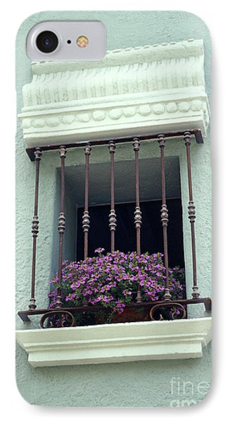 IPhone Case featuring the photograph Cuernavaca Window  Mexico by John  Mitchell