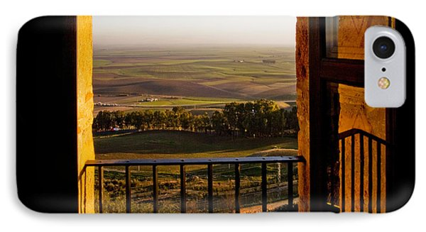 Cultivated Land In Spain Phone Case by Spencer Grant and Photo Researchers