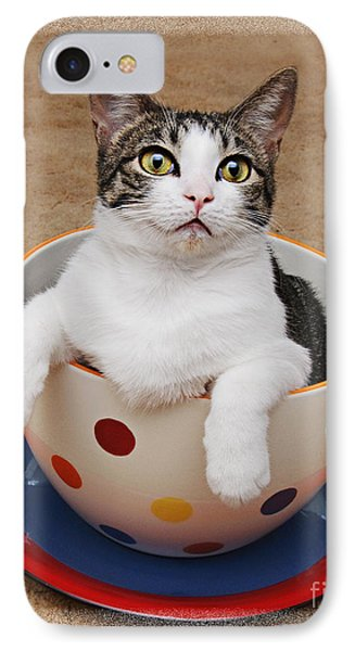 Cup O Tilly 3 IPhone Case by Andee Design