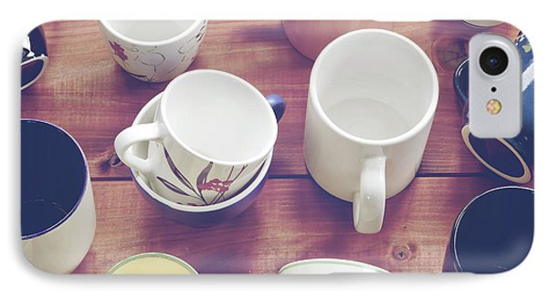 Cups Phone Case by Joana Kruse