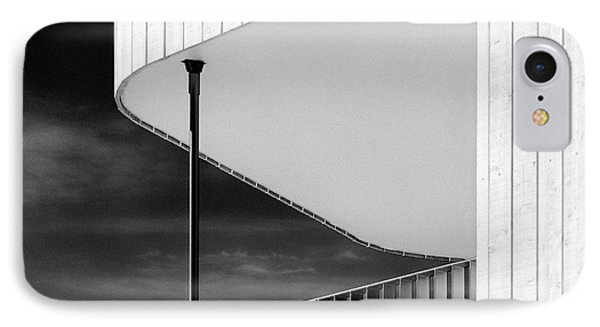 Curved Balcony IPhone Case by Dave Bowman