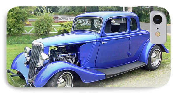 IPhone Case featuring the photograph Custom 34 Ford by Pamela Patch