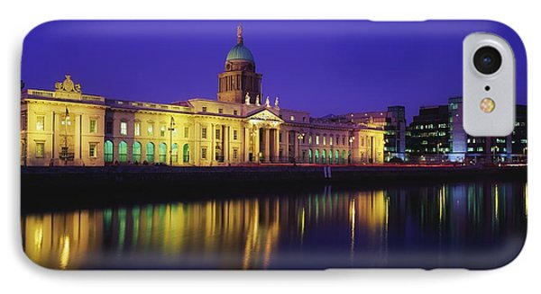 Custom House, Dublin, Co Dublin Phone Case by The Irish Image Collection