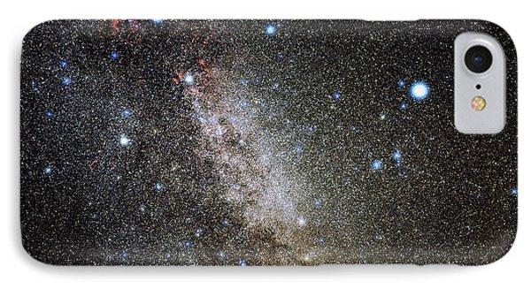 Cygnus And Lyra Constellations Phone Case by Eckhard Slawik