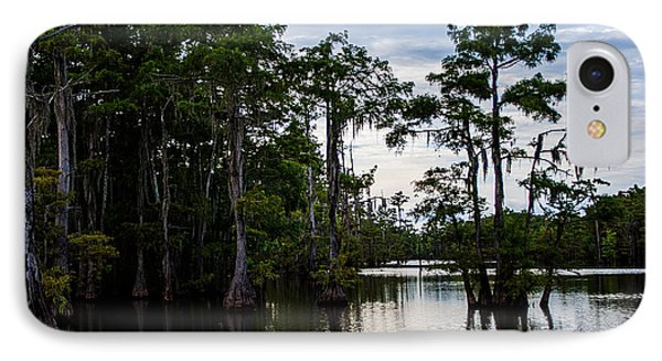 IPhone Case featuring the photograph Cypress Swamp In Louisiana by Ester  Rogers